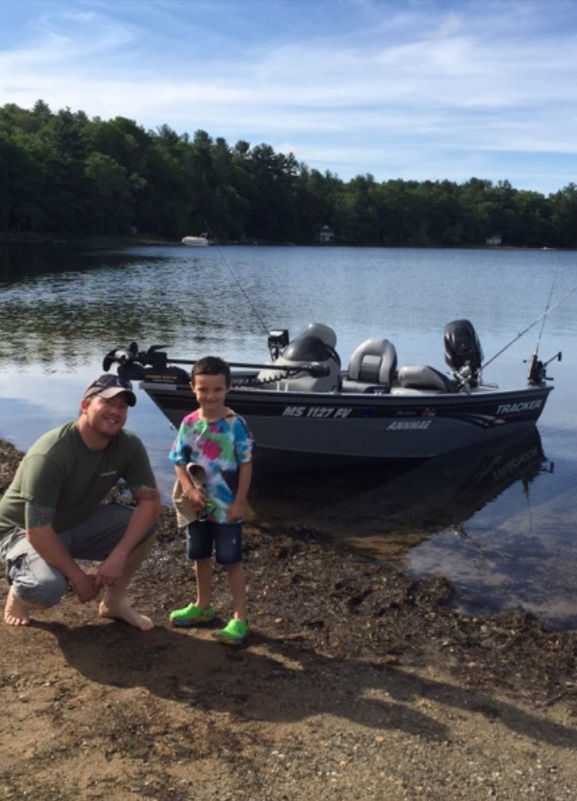 Trout and bass fishing boat charters for Fishing boat trips